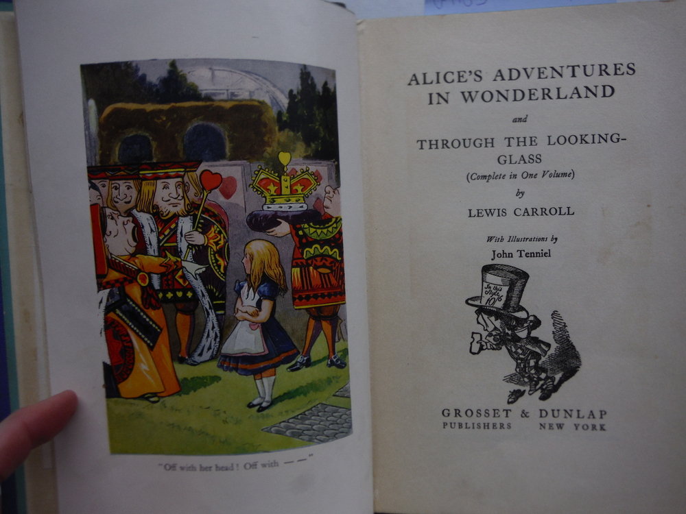 Image 1 of Alice's Adventures in Wonderland and Through the Looking-Glass (Complete in One