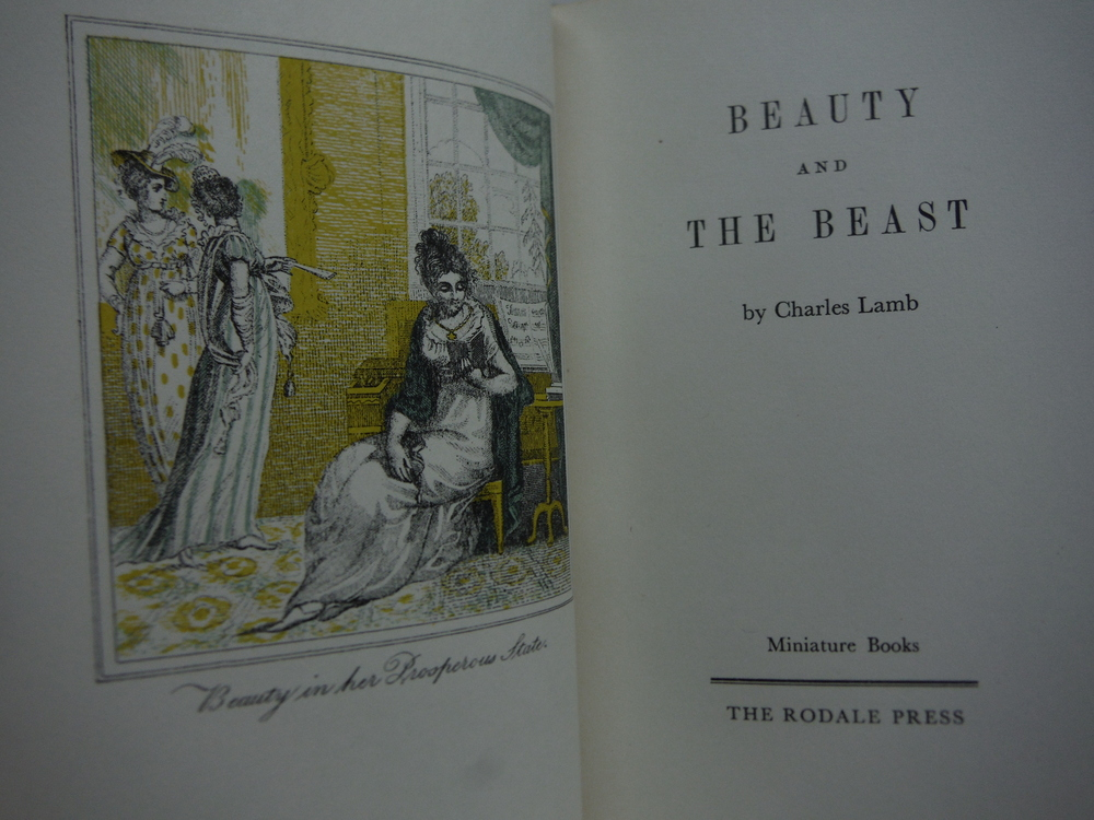 Image 1 of Beauty and the Beaast (Miniature Books)