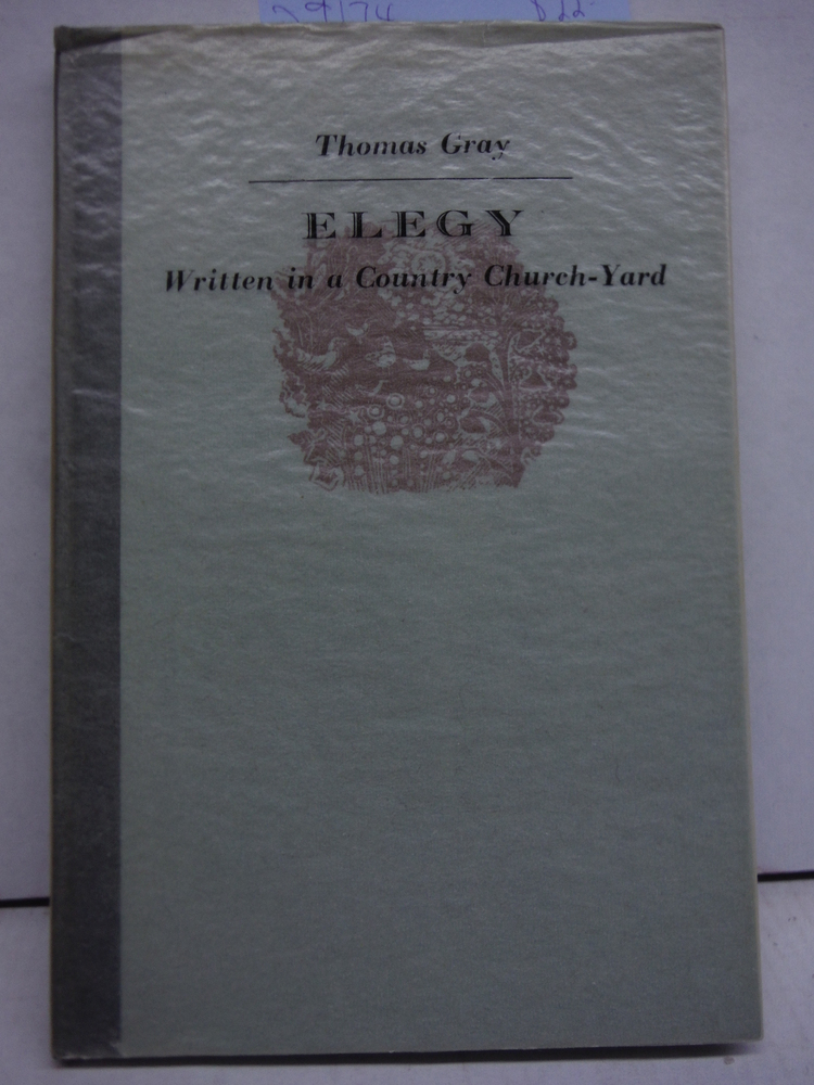 Image 0 of Elegy Written in a Country Churchyard