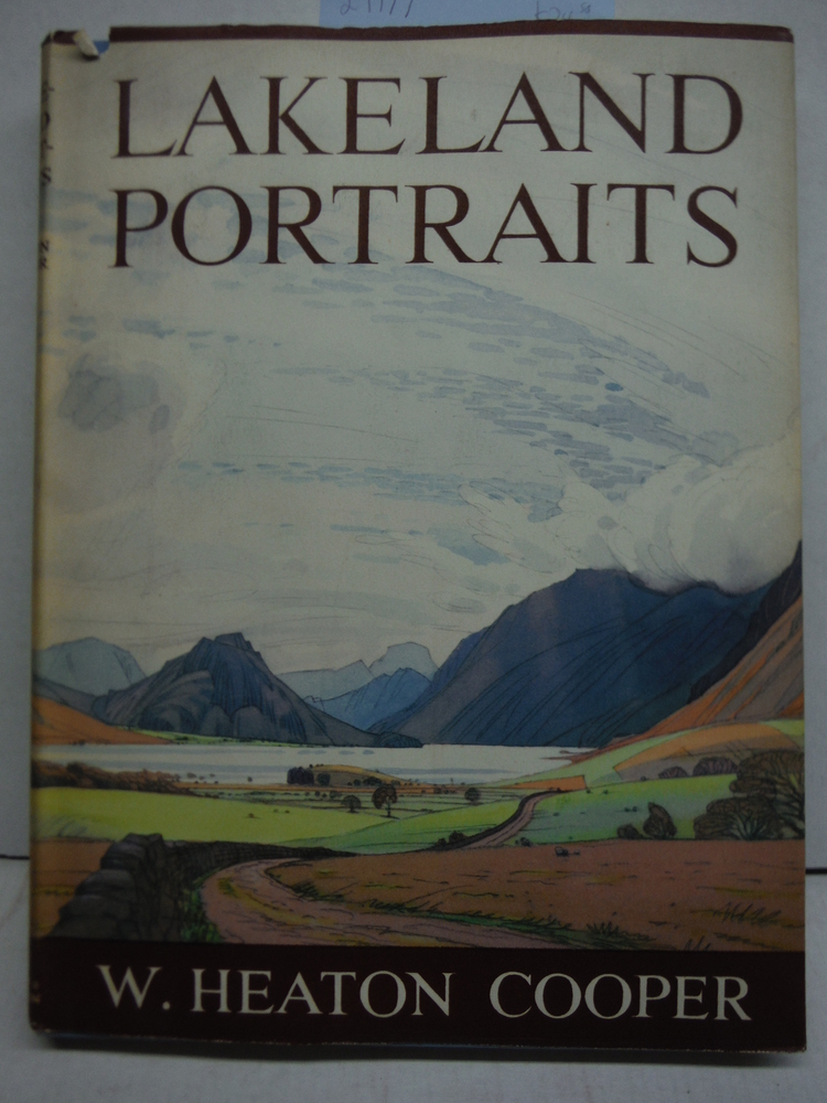 1954 UK LAKELAND PORTRAITS LAKE DISTRICT ENGLAND LOVELY COLOR PRINTS DUST JACKET