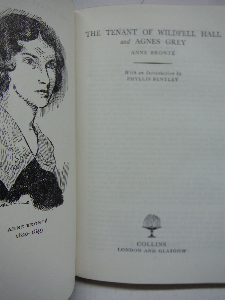 Image 1 of The Tenant of Wildfell Hall and Agnes Grey