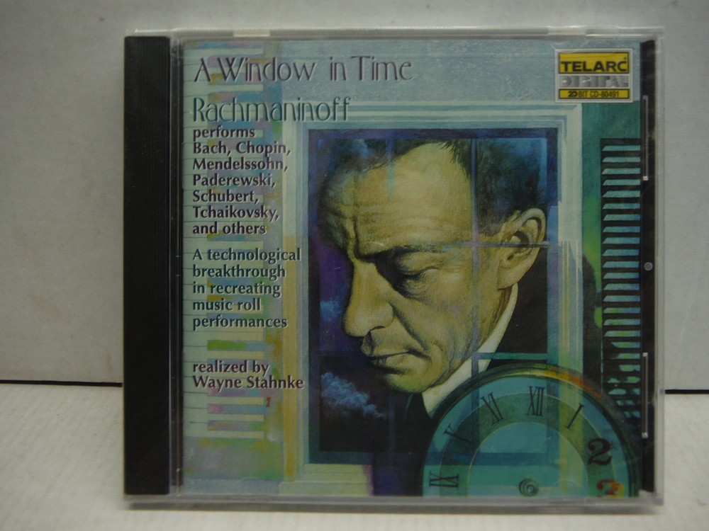 Image 0 of A Window in Time: Rachmaninoff Performs Chopin, Tchaikovsky, and Others