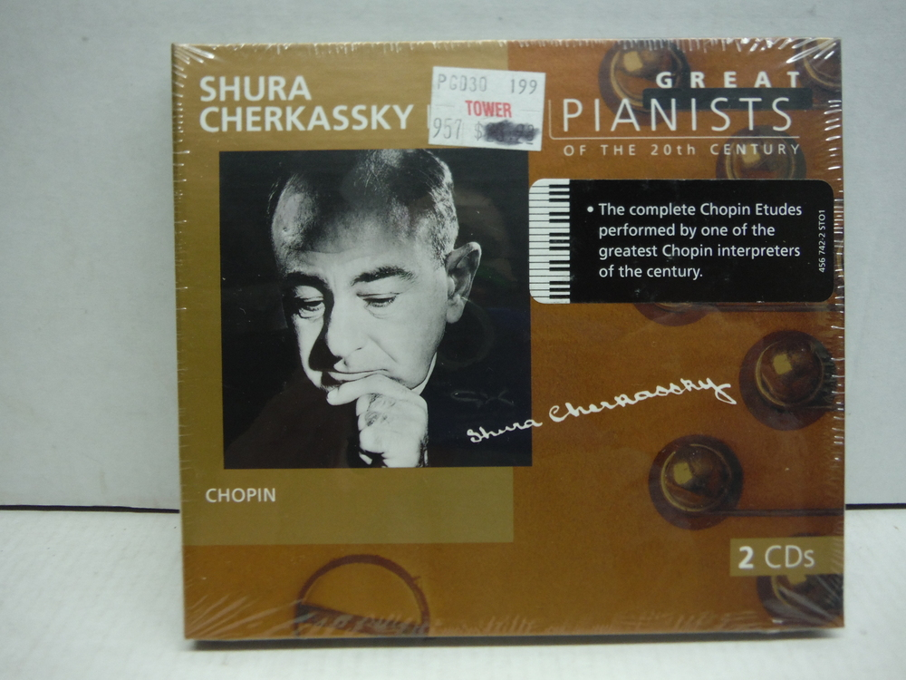 Great Pianists of the 20th Century - Shura Cherkassky Vol. I7