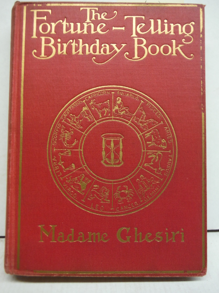 The Fortune Telling Birthday Book