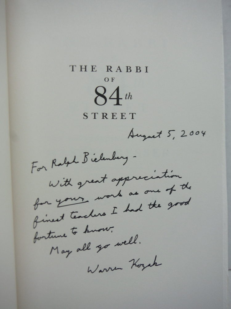 Image 1 of The Rabbi of 84th Street: The Extraordinary Life of Haskel Besser