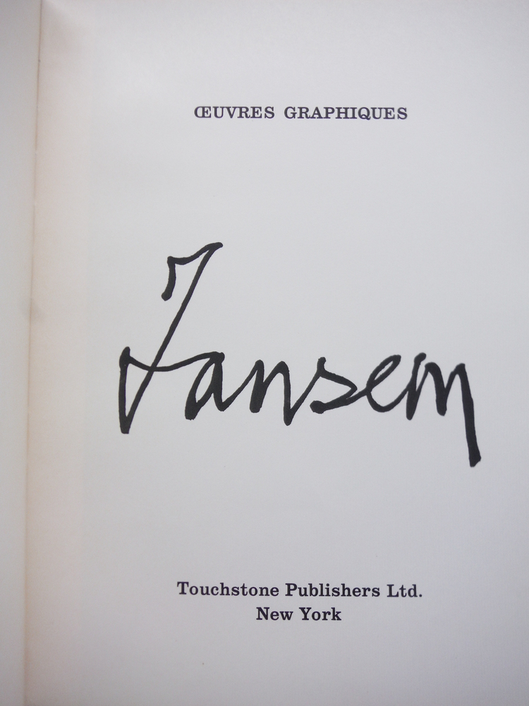 Image 1 of Jansem Oeuvres Graphiques