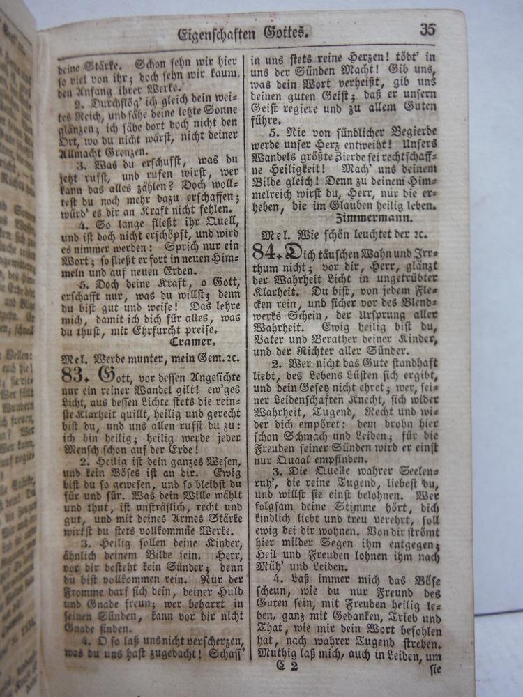 Image 2 of Neues Gothaisches Gesangbuch fur die offentliche Gottesverehrung und fur die hau