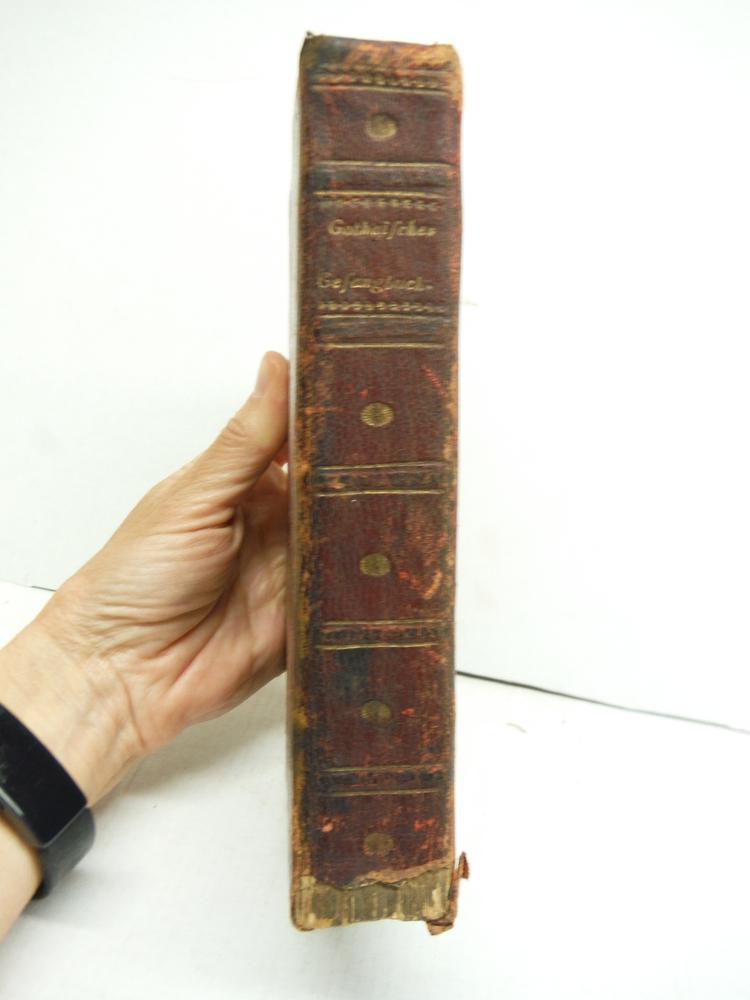 Image 4 of Neues Gothaisches Gesangbuch fur die offentliche Gottesverehrung und fur die hau