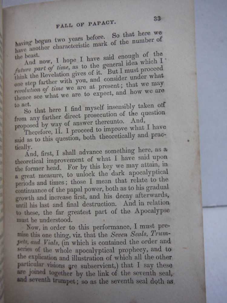 Image 2 of Apocalyptical Key. An Extraordinary Discourse on the Rise and Fall of Papacy; or