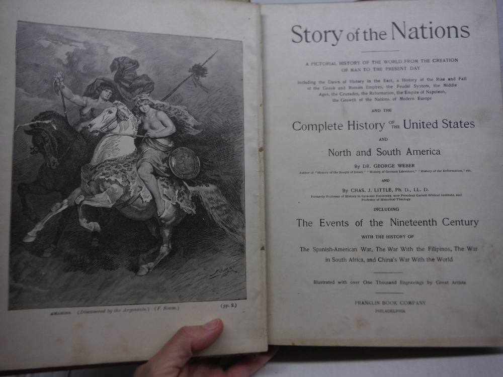 Image 1 of Story of the Nations A Pictorial History of the World from the Creation of Man t