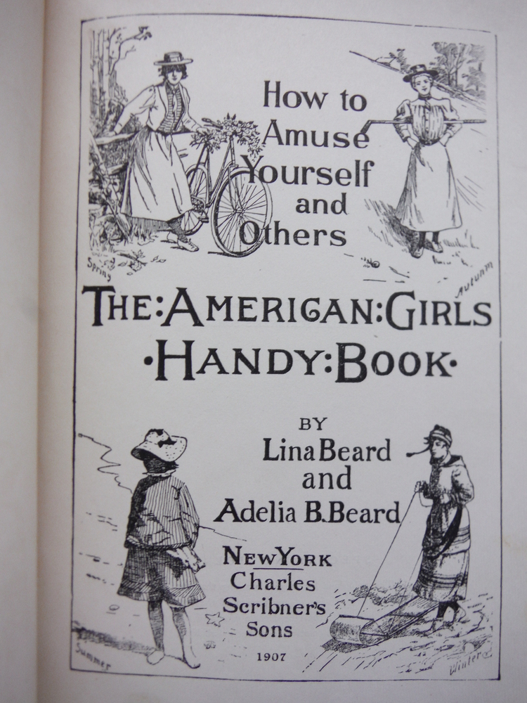 Image 1 of The American Girls Handy Book