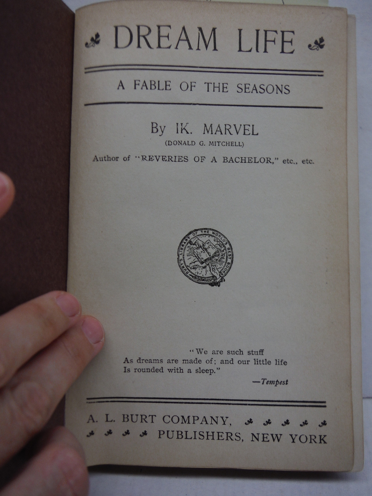 Image 1 of Dream-Life: A Fable of the Seasons