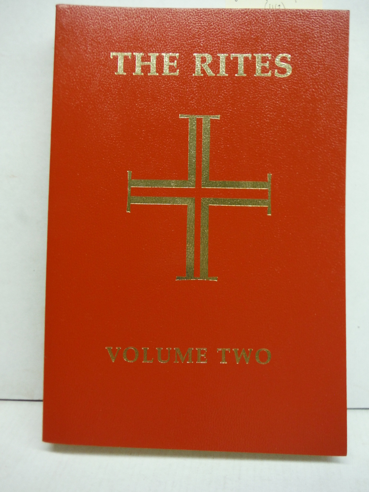 Rites of the Catholic Church Volume 2 (Vol 2)