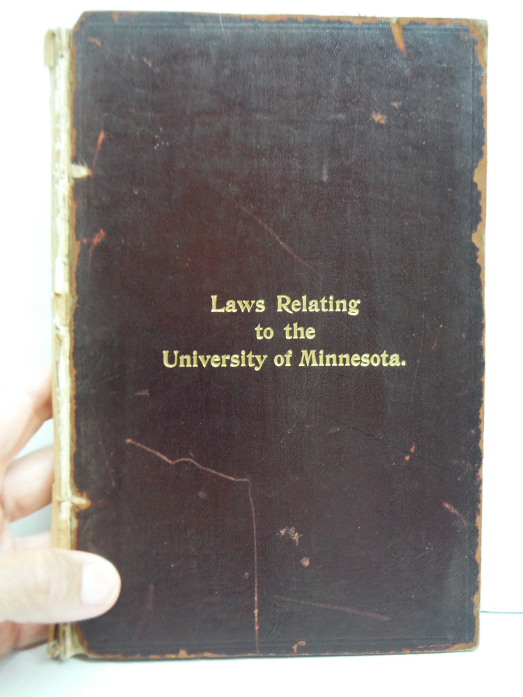 a Compilation of National and State Laws Relating to the University of Minnesota