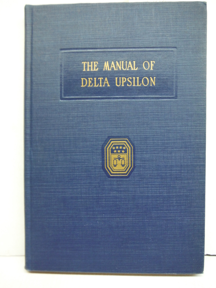 The Manual Of Delta Upsilon