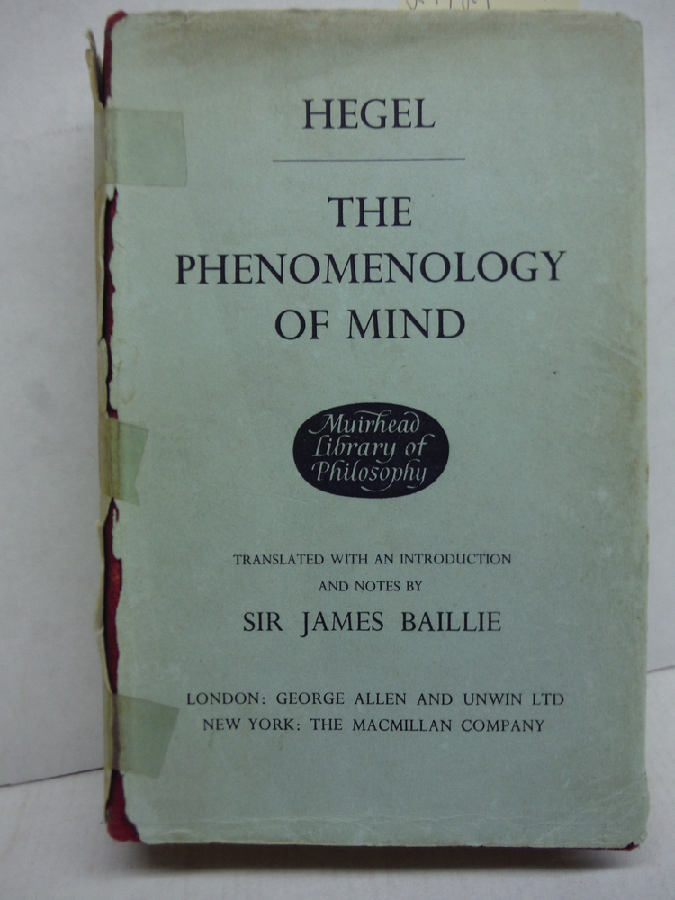 Hegel's The Phenomenology of Mind