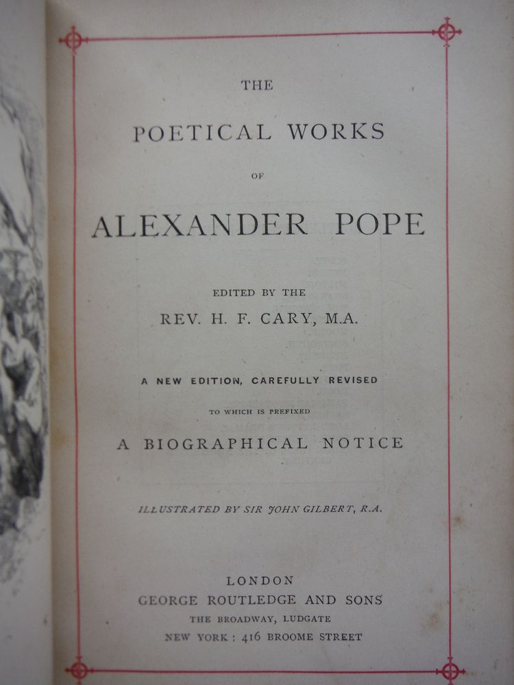 Image 1 of The Poetical Works of Alexander Pope