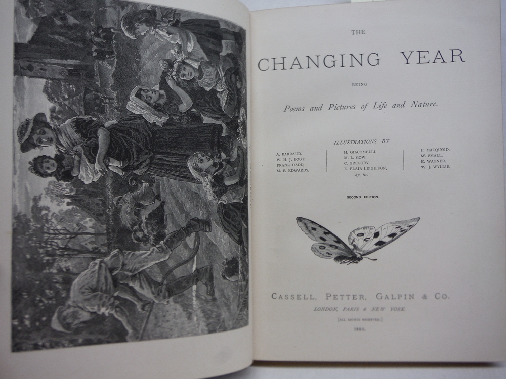 Image 1 of The changing year: being poems and pictures of life and nature