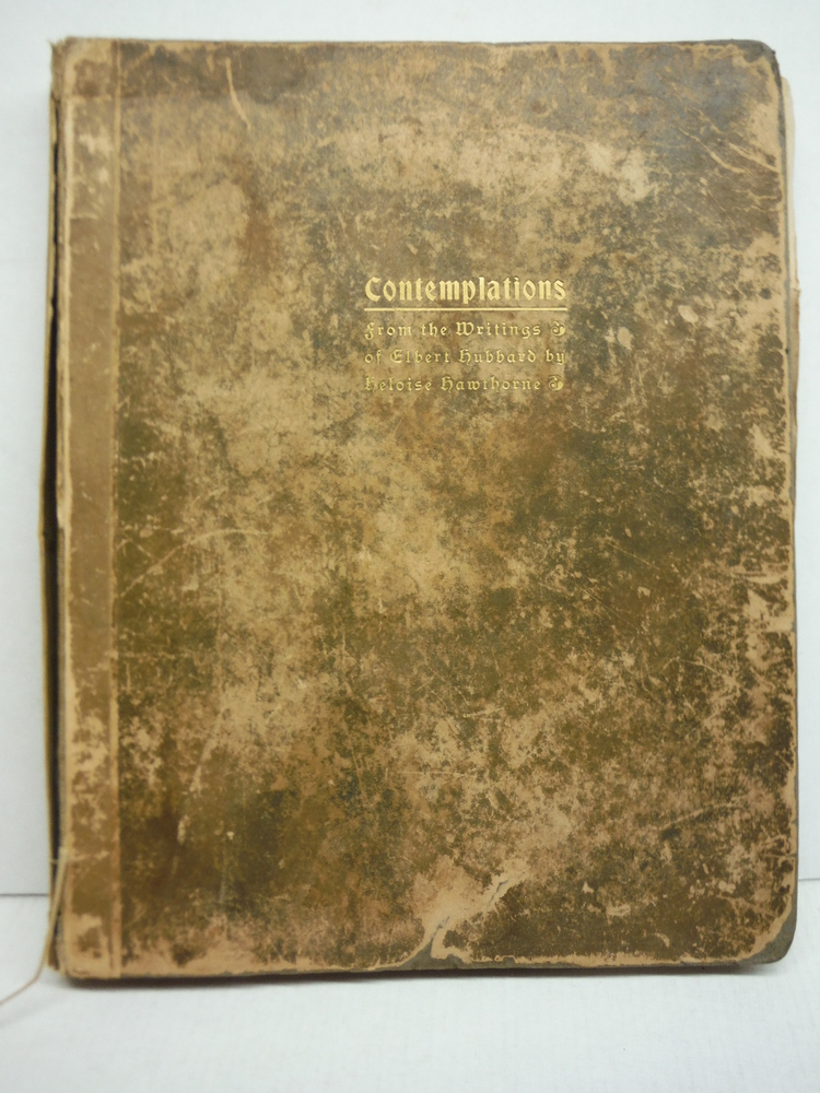 Image 0 of Contemplations, Being Several Short Essays, Helpful Sermonettes, Epigrams and Or