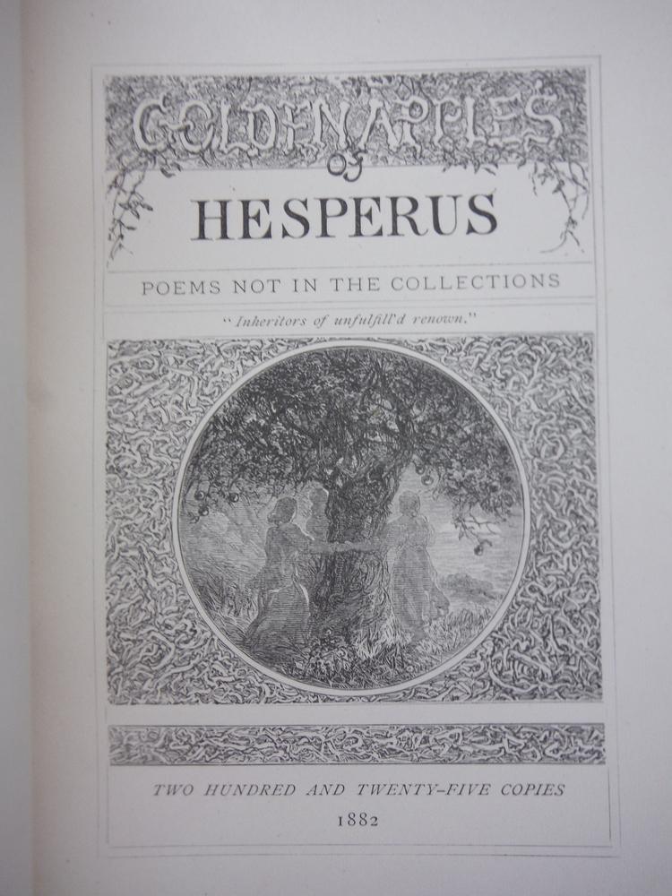 Image 1 of GOLDEN APPLES OF HESPERUS