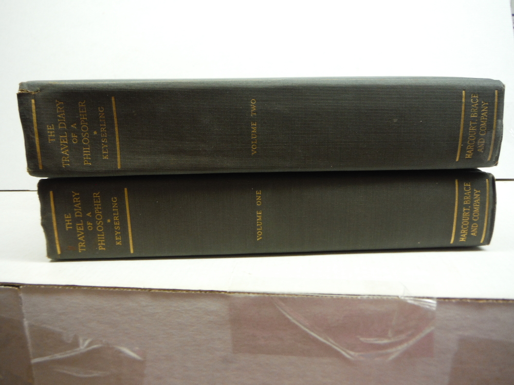 Image 0 of The Travel Diary of a Philosopher. Two Volume Set (Vols. I & II).