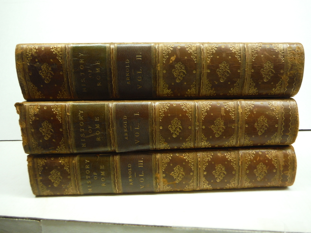 HISTORY OF ROME, 3 Volumes