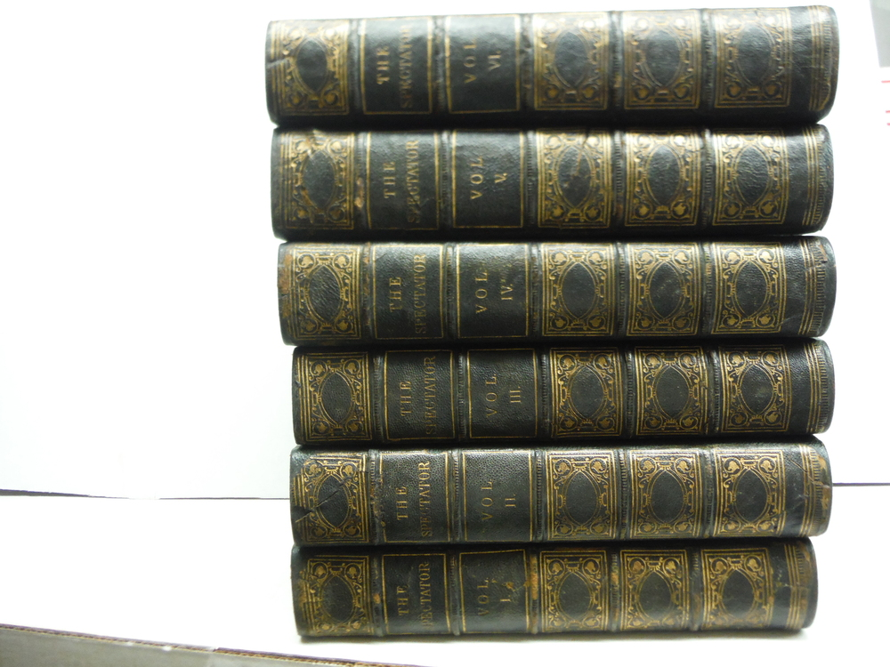 Image 0 of The Spectator; A New Edition, Carefully Revised, In Six Volumes; With Prefaces H
