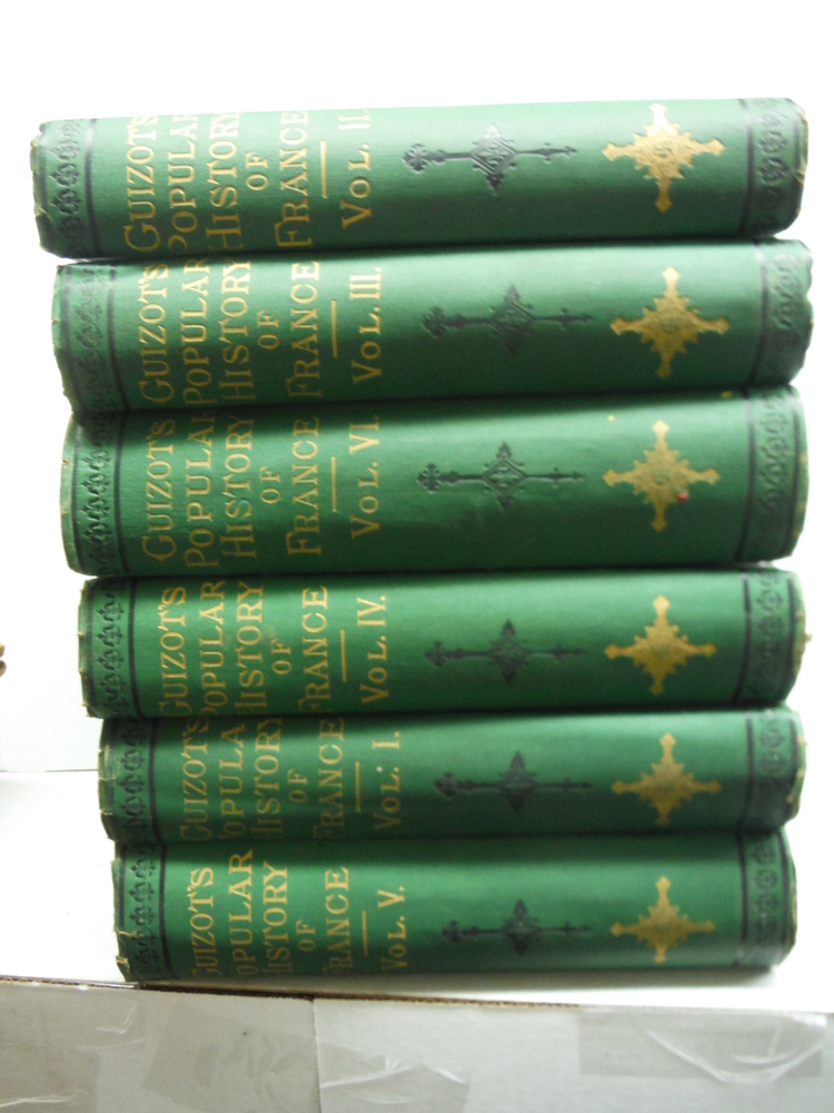 A Popular History of France From the Earliest Times. Six Volume Set