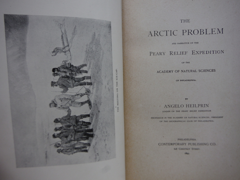 Image 1 of The Arctic Problem and Narrative of the Peary Relief Expedition of the Academy o