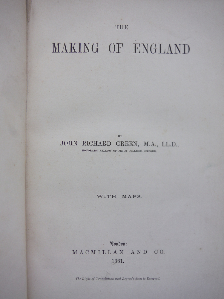 Image 1 of The Making of England