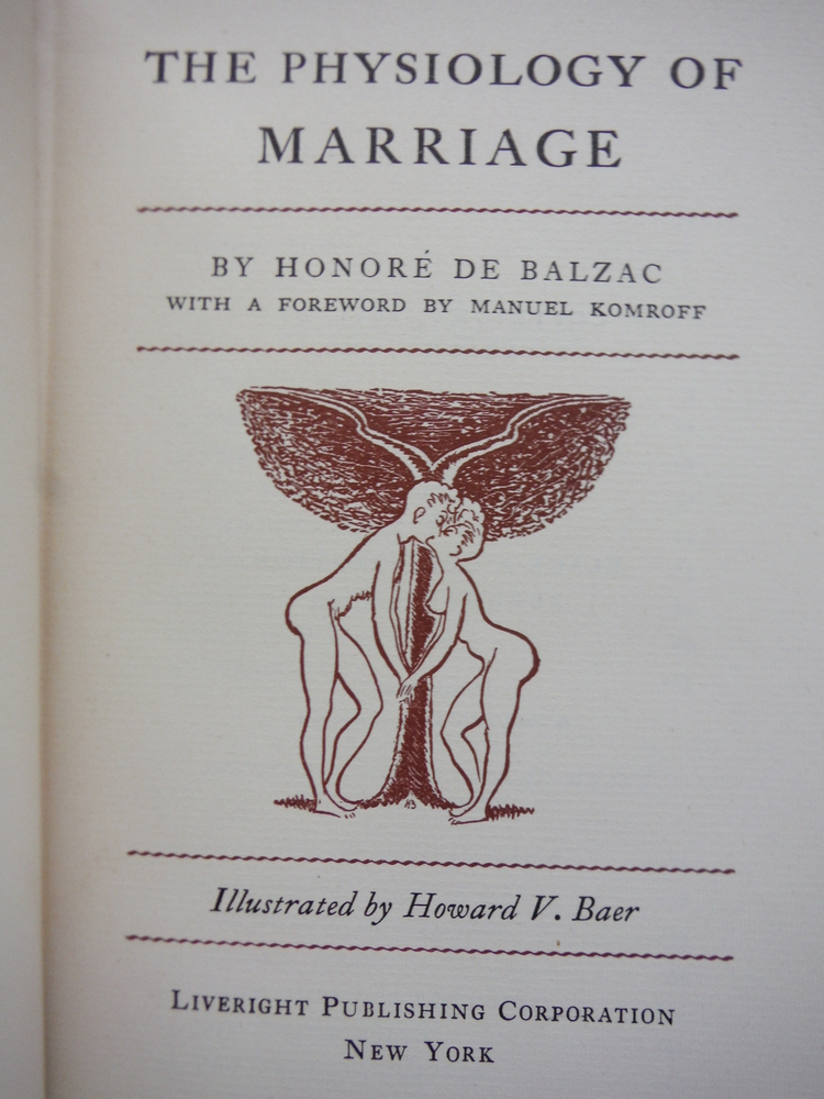 Image 1 of The Physiology of Marriage (The Black and Gold Edition)