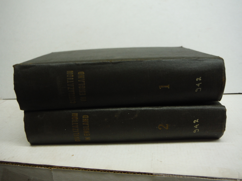 History of Civilization in England (2 Vols)