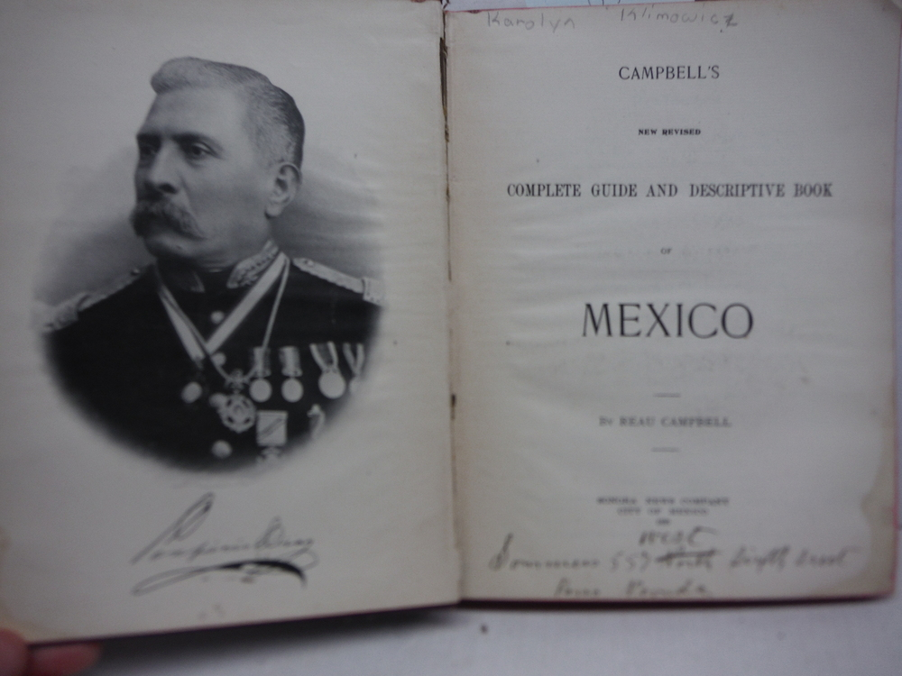 Image 1 of Campbell's new revised complete guide and descriptive book of Mexico;