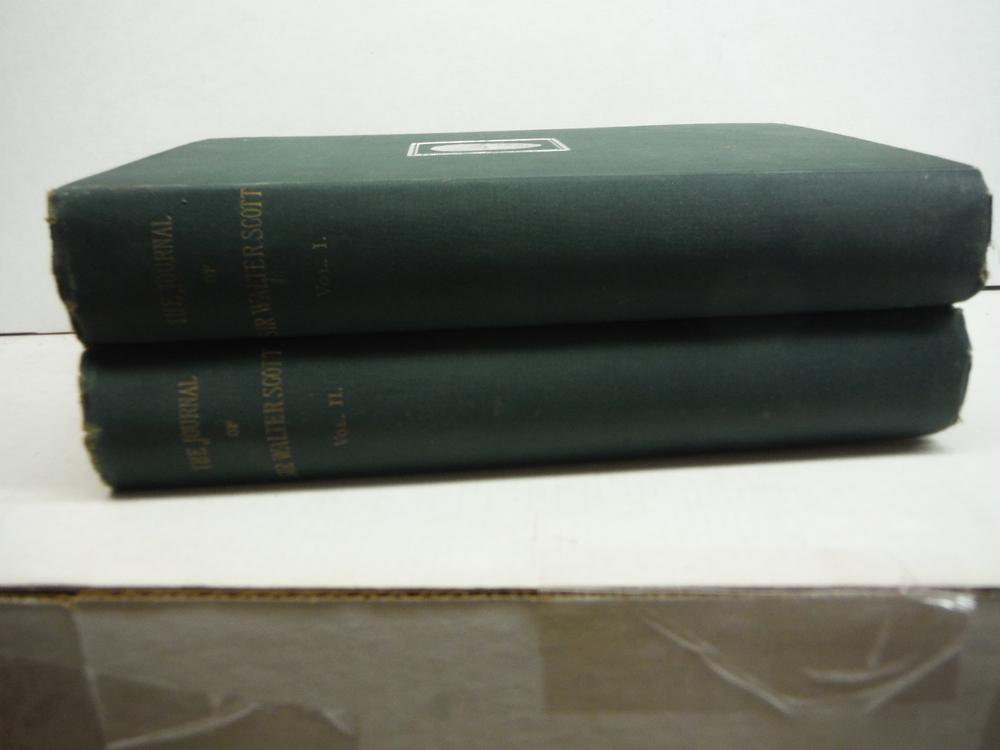 The Journal of Sir Walter Scott (2 Vols)