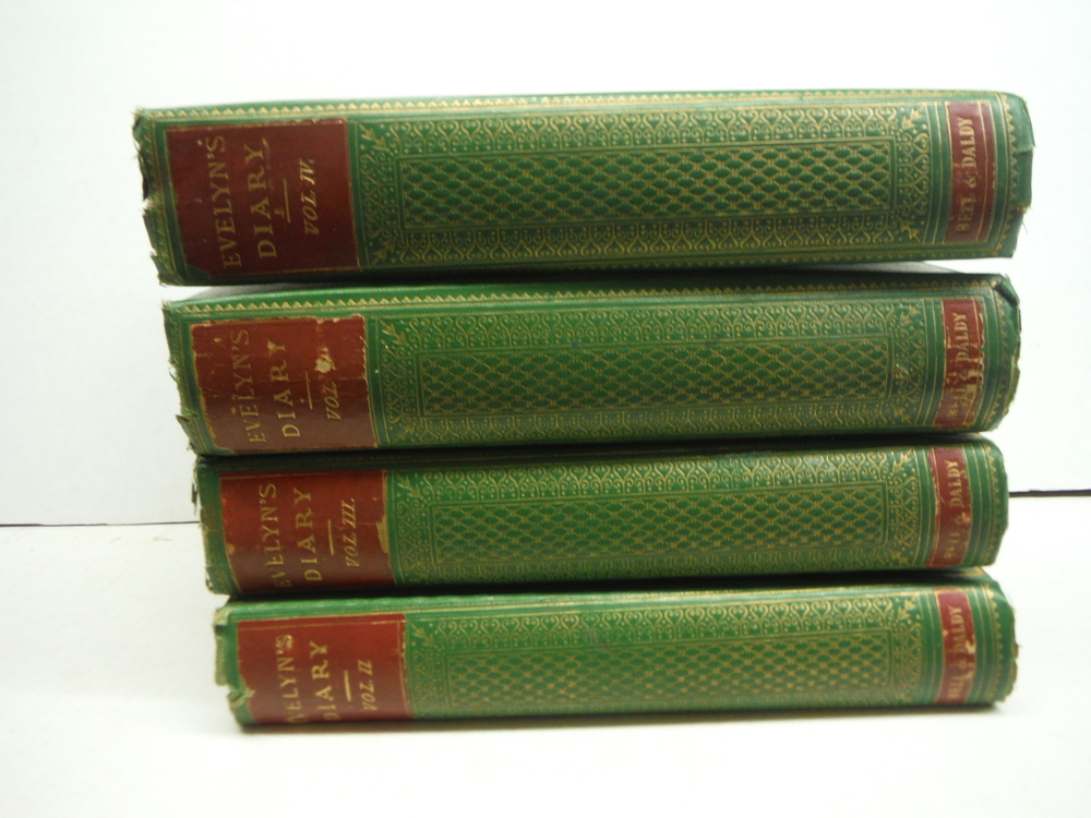 Diary and Correspondence of John Evelyn F.R.S. (4 Vols)