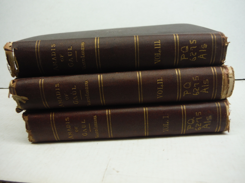 Amadis of Gaul; 3 volumes