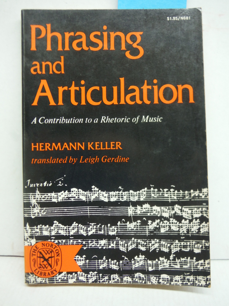 Image 0 of Phrasing & Articulation (Norton Library)
