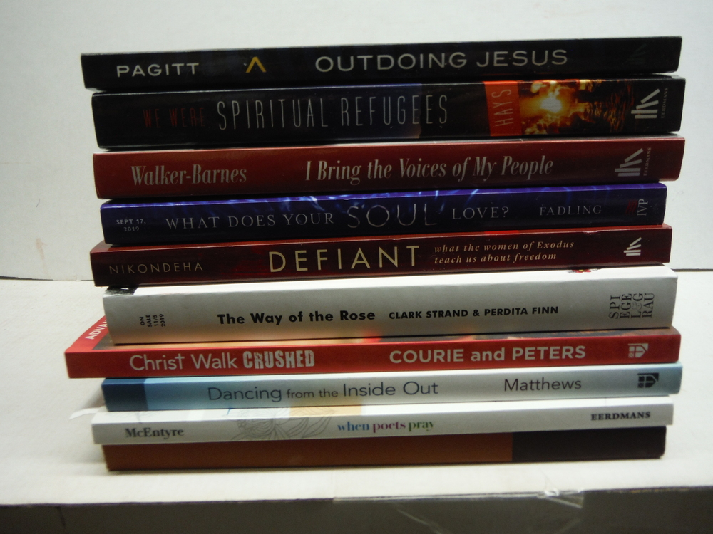 Christian Spirituality - 10 Different New PBK Advance Reading Copies