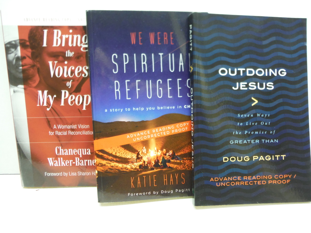 Image 1 of Christian Spirituality - 10 Different New PBK Advance Reading Copies
