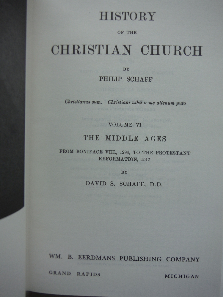 Image 1 of History of the Christian Church: Middle Ages (Vol V & VI)