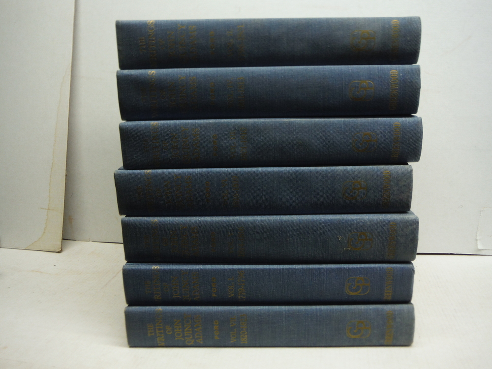 Image 0 of the Writings of John Quincy Adams. 7 volumes (complete)