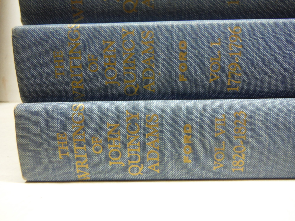 Image 1 of the Writings of John Quincy Adams. 7 volumes (complete)