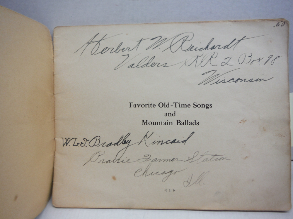 Image 1 of Favorite Old-time Songs and Mountain Ballads, Book 2