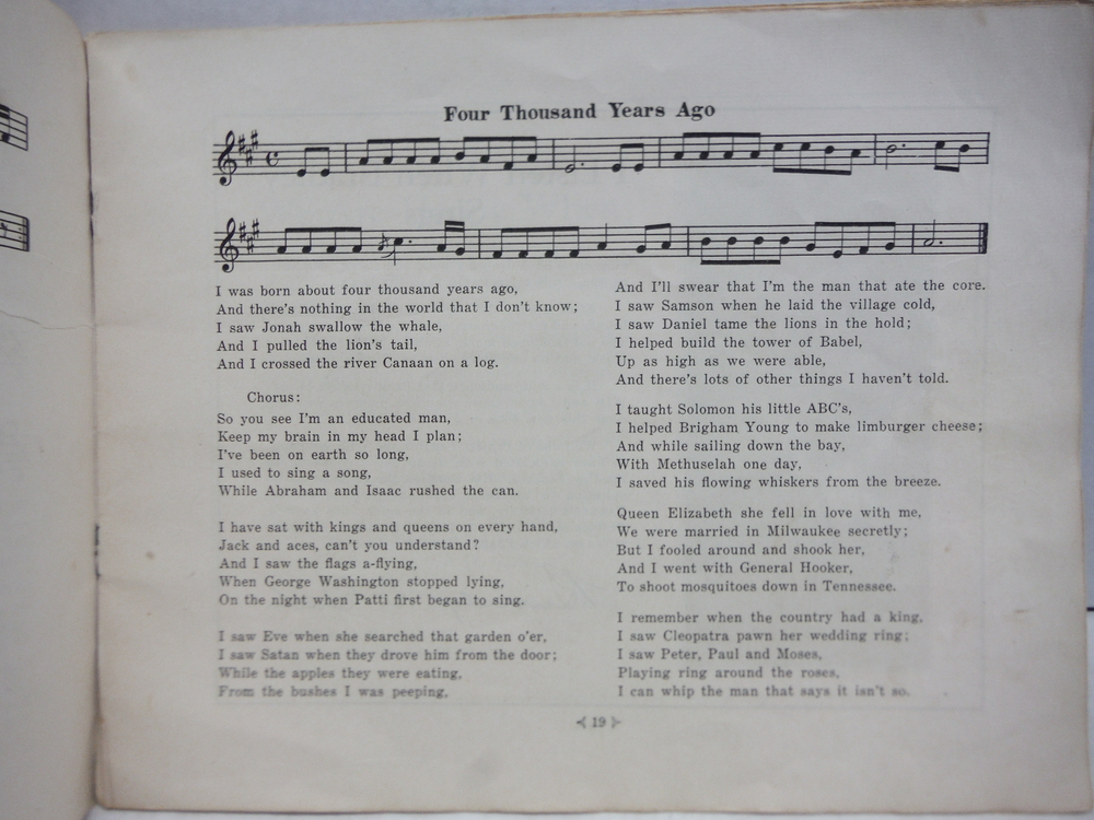Image 2 of Favorite Old-time Songs and Mountain Ballads, Book 2
