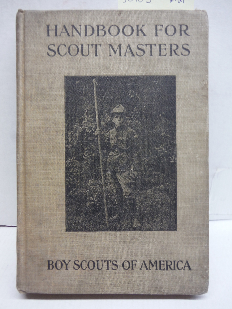 Handbook for Scout Masters. Boy Scouts of America.