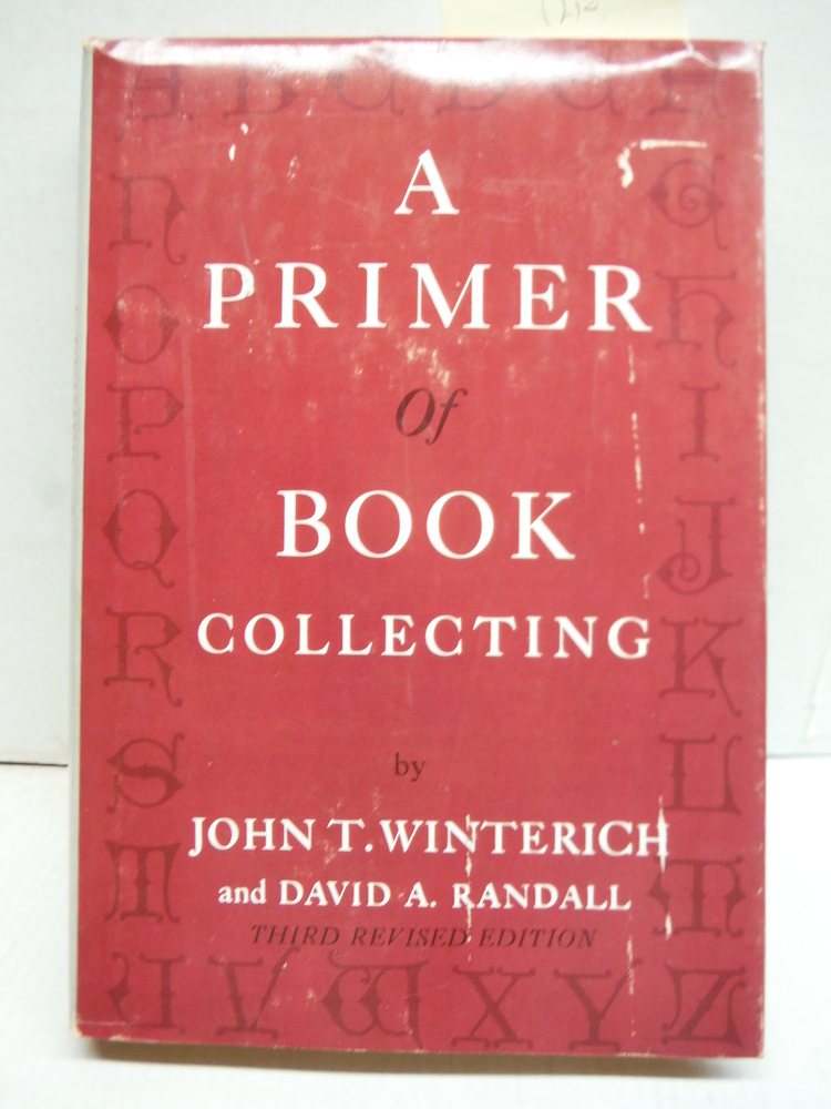 Image 0 of A Primer of Book Collecting  Third Revised Edition