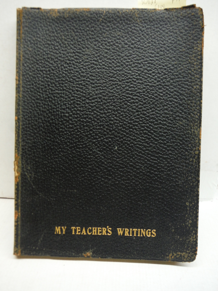 My Teacher's Writings - Herbert L. Frank