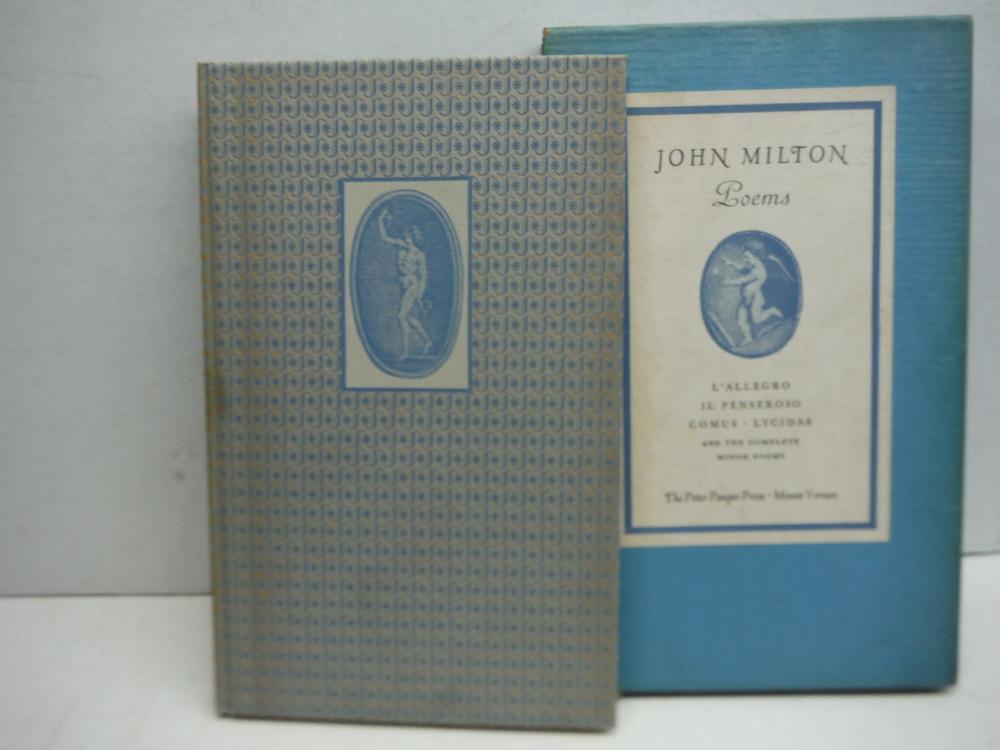 John Milton Poems -L'Allegro, Il Penseroso Comus Lyucidas and the Complete Minor