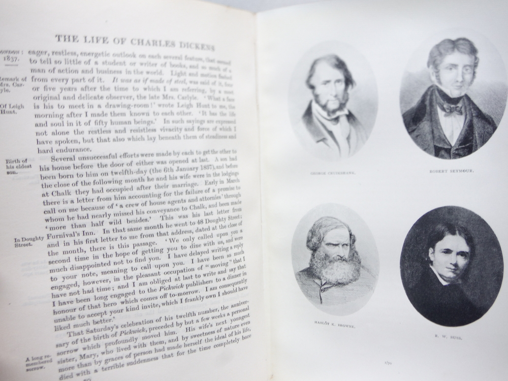 Image 3 of The Life of Charles Dickens Memoraial Edition 2 Vol.