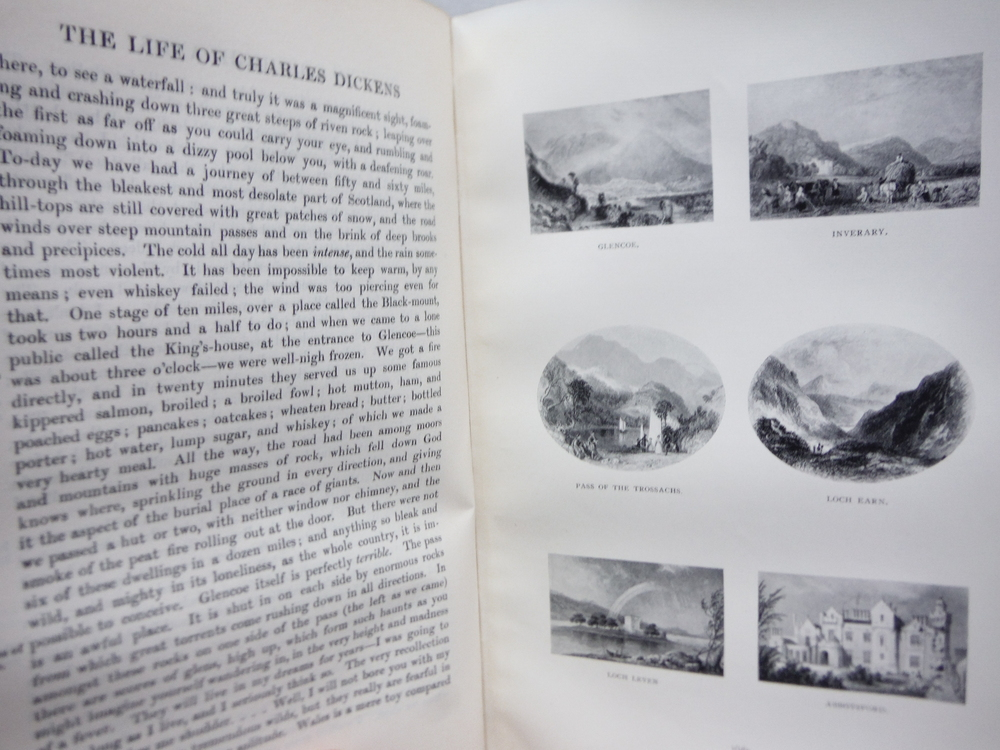 Image 4 of The Life of Charles Dickens Memoraial Edition 2 Vol.